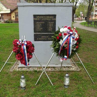 Pietny akt - 76. výročie ukončenia 2. sv. vojny